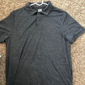 Grey Golf Shirt
